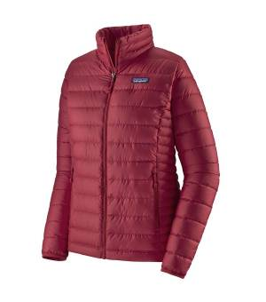 Patagonia Down Sweater W Jacket roamer red bunda