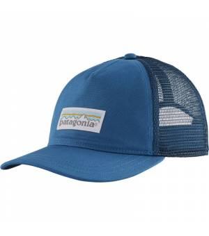 Patagonia Pastel P-6 Label Layback W Trucker Hat steller blue šiltovka