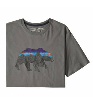 Patagonia Back for Good Organic Cotton M T-Shirt noble grey tričko