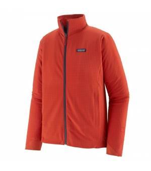 Patagonia R1® TechFace M Jacket hot ember mikina
