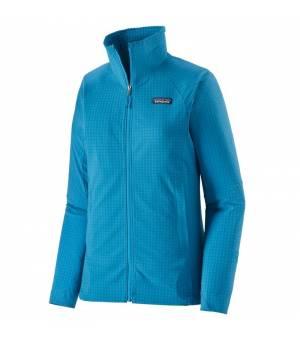 Patagonia R1® TechFace W Jacket steller blue mikina