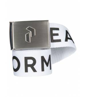 Peak Performance Rider Belt White opasok