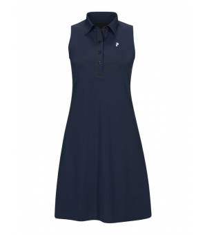 Peak Performance W Trinity Dress Blue Shadow šaty