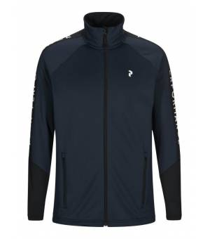 Peak Performance M Rider Zip Jacket Blue Shadow mikina