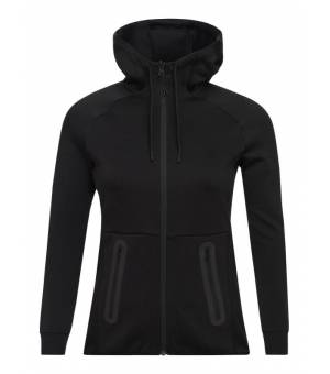 Peak Performance Tech W Zip Hood Black mikina