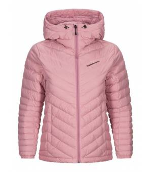 Peak Performance Frost W Down Hood Jacket Frosty Rose bunda
