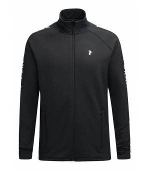 Peak Performance Rider M Zip Jacket Black mikina