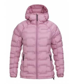 Peak Performance Argon W Hood Jacket Frosty Rose bunda