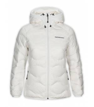 Peak Performance Helium W Hood Jacket Off White bunda