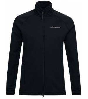 Peak Performance M Chill Zip Jacket Black Mikina