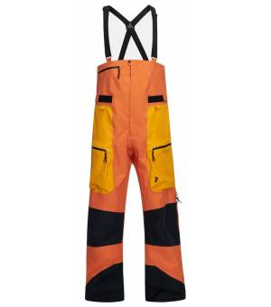Peak Performance M Vertical Pro Pants Orange Altitude Nohavice