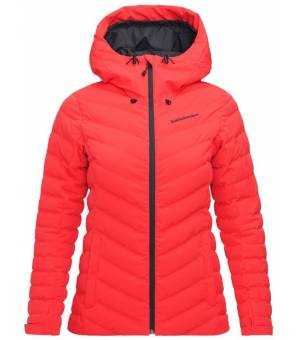 Peak Performance W Frost Ski Jacket Polar Red Bunda