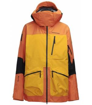 Peak Performance M Vertical Pro Jacket Orange Altitude Bunda