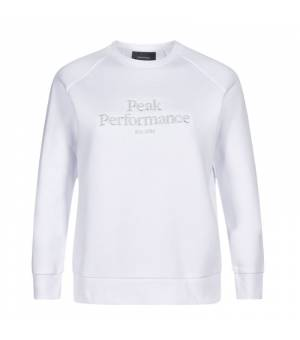 Peak Performance Original Crew W White mikina