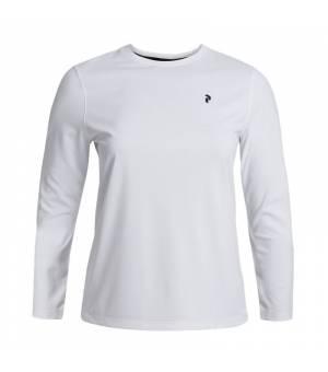 Peak Performance W Alum Light Long Sleeve White tričko