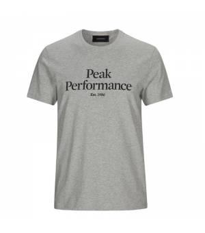 Peak Performance M Original Tee Med Grey Mel tričko