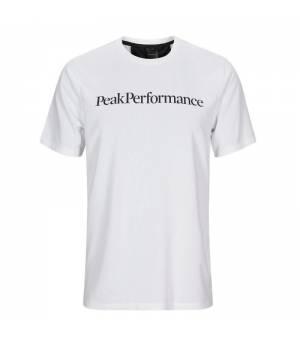 Peak Performance M Alum Light Short Sleeve White tričko
