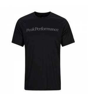 Peak Performance M Alum Light Short Sleeve Black tričko
