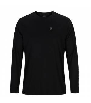 Peak Performance Alum Light Long Sleeve M Black tričko