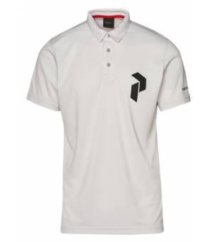 Peak Performance M Panmore Polo Antarctica / Black / tričko