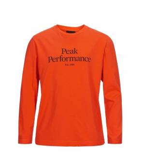 Peak Performance Jr Original Long Sleeve Super Nova tričko