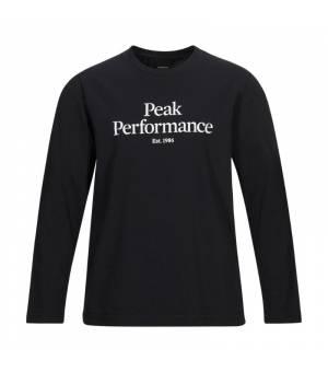 Peak Performance Jr Original Long Sleeve Black tričko