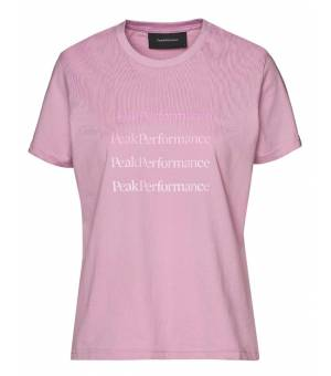 Peak Performance W Ground Tee statice lilac tričko