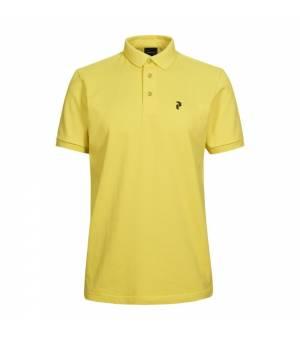 Peak Performance M Classic Polo Citrine tričko
