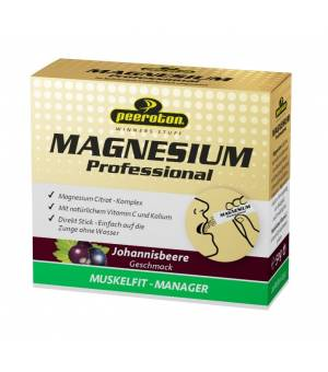 Peeroton MAGNÉZIUM Professional s príchuťou Ríbezľa 20x2,5g