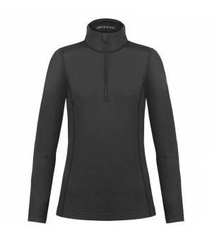 Poivre Blanc W Base Layer Shirt Lurex Black rolák