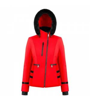 Poivre Blanc W Stretch Ski Jacket Scarlet Red lyžiarska bunda