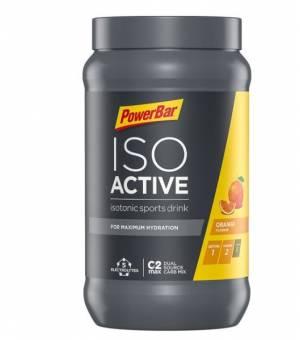 PowerBar Isoactive Izotonický Športový Nápoj 600 g Pomaranč