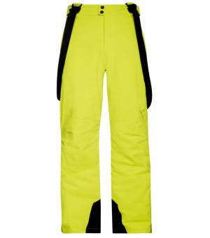 Protest Owens M Ski Pants Lime Rocks Nohavice