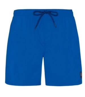 Protest Faster Beach Shorts M Medium Blue kraťasy