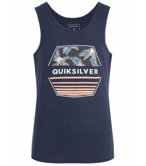 Quiksilver Drift Away M Tank tielko modré