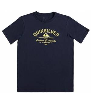Quiksilver Creators Of Simplicity Youth Tee parisian blue tričko