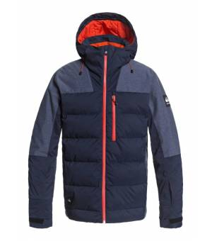 Quiksilver The Edge Snow Jacket Navy Blazer lyžiarska bunda