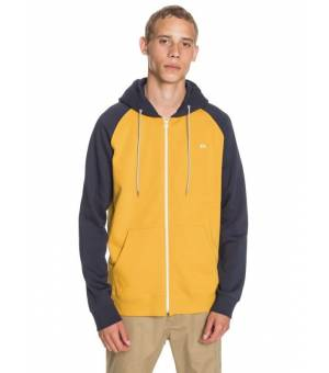 Quiksilver Everyday Zip-Up Hoodie M mikina žltá