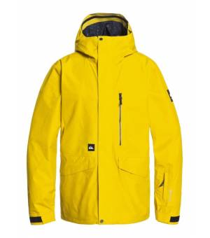 Quiksilver Mission GORE-TEX 2L Shell Snow M Jacket Sulphur lyžiarska bunda