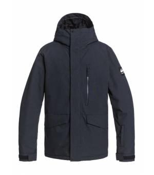 Mission Solid Snow M Jacket True Black lyžiarska bunda