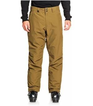 Quiksilver Estate Snow Pants M Military Olive lyžiarske nohavice