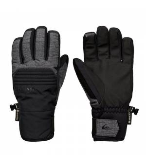 Quiksilver Hill GORE-TEX Gloves M Black lyžiarske rukavice