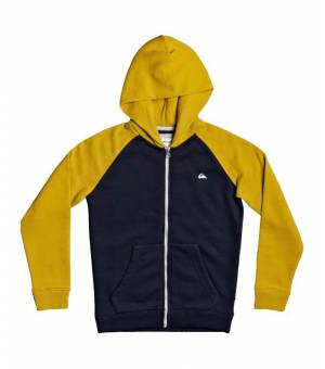 Quiksilver Easy Day Zip-Up Hoodie Youth Honey mikina