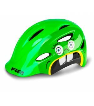 R2 Cyklistická prilba Ducky Green 2020