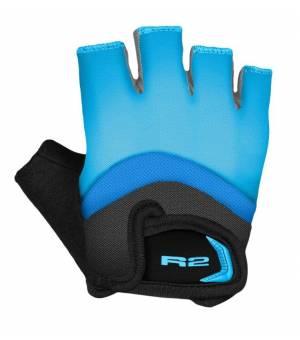 R2 Loop Blue/Black cyklistické rukavice