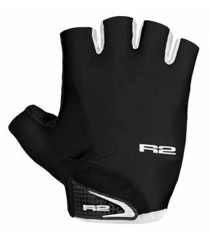 R2 Riley Black/White cyklistické rukavice