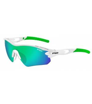 R2 Proof White/Green slnečné okuliare