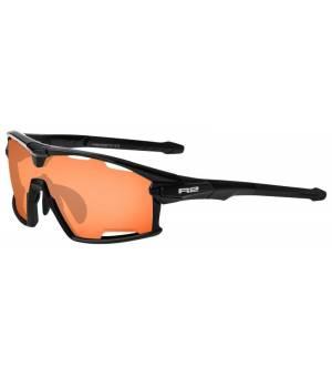 R2 Rocket Black/Orange slnečné okuliare