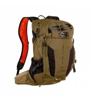 R2 Trail Force Olive/Black/Orange batoh 12 L