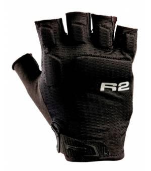 R2 E-Guard Black cyklistické rukavice
